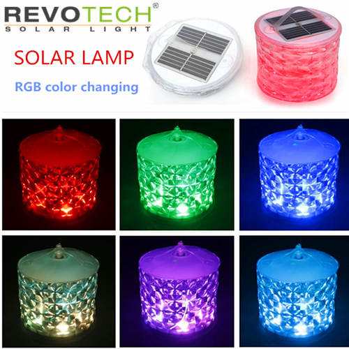RGB solar Inflatable camping lamp 5003